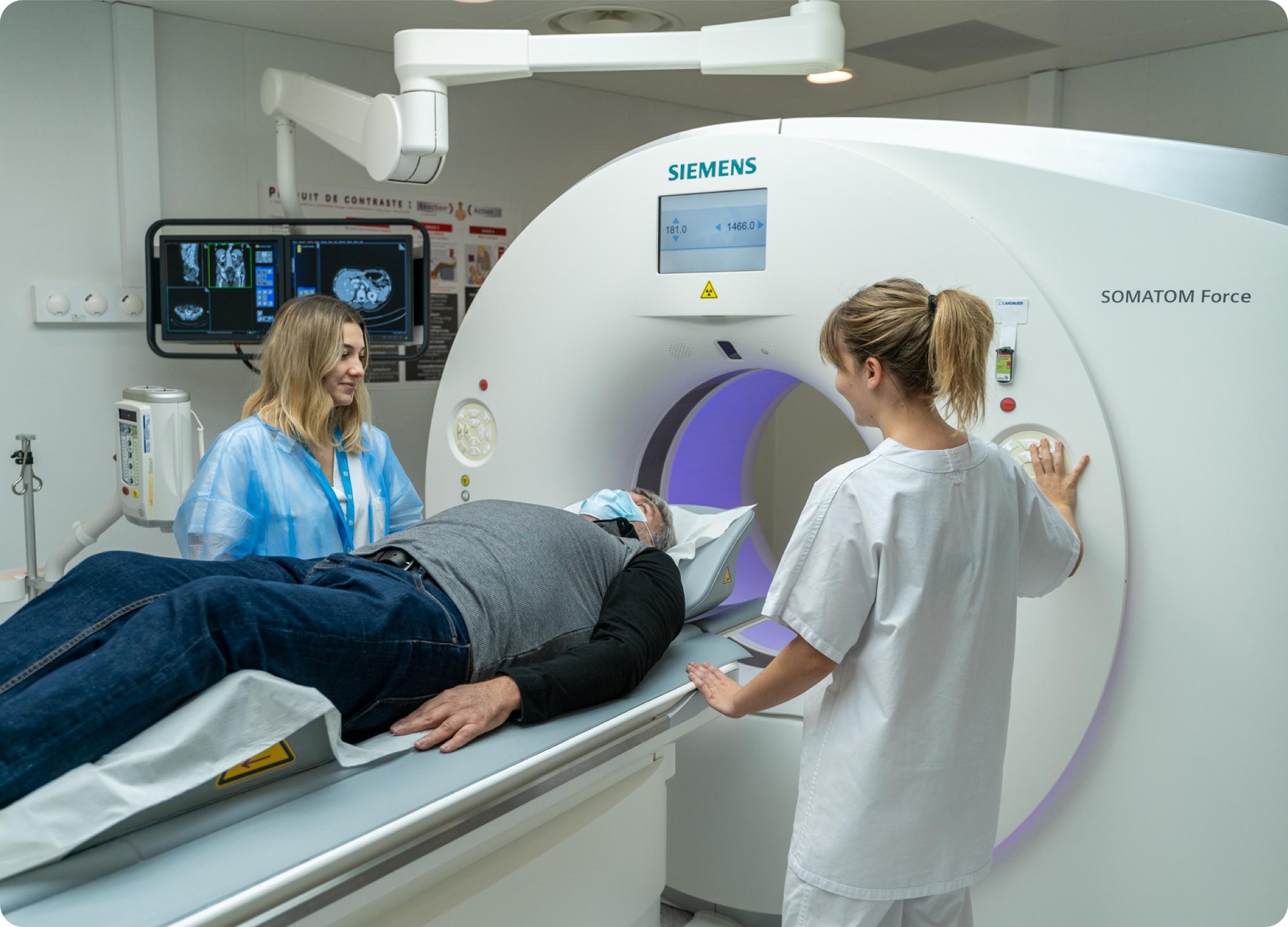 Scanner équipement IHU
