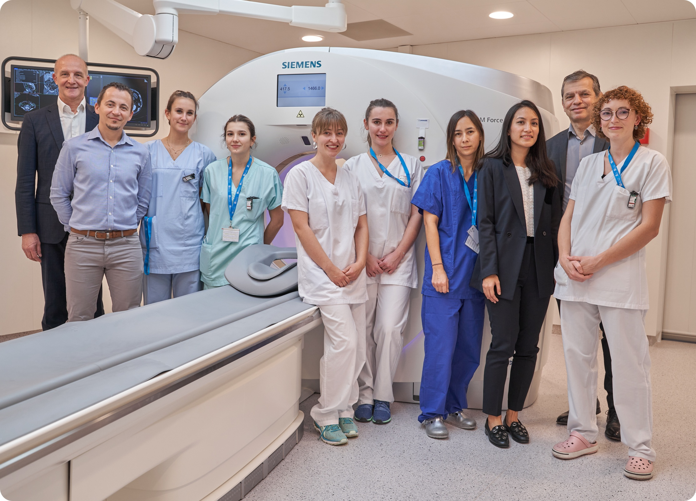 Équipe médicale centre d'imagerie - IHU Strasbourg